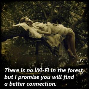 Geen wifi maar betere connectie